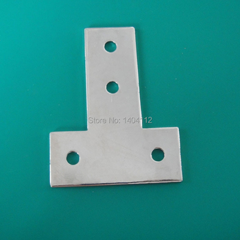 4 Hole Tee Joining Plate for Aluminum Profile 3030